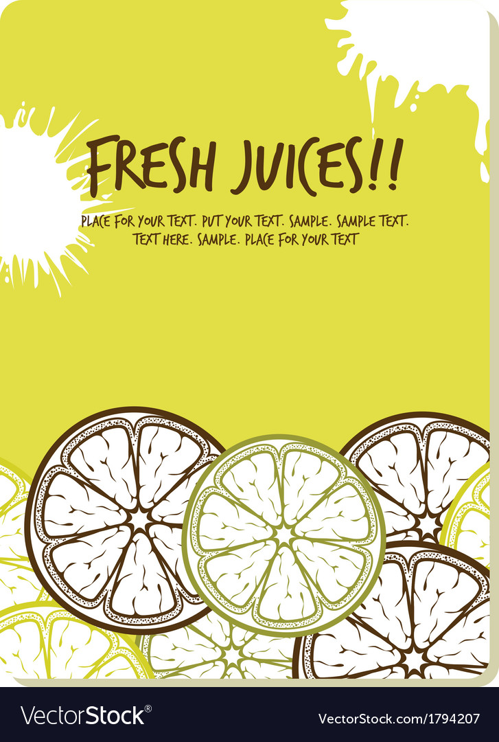 Fresh juices2 resize vector | Price: 1 Credit (USD $1)