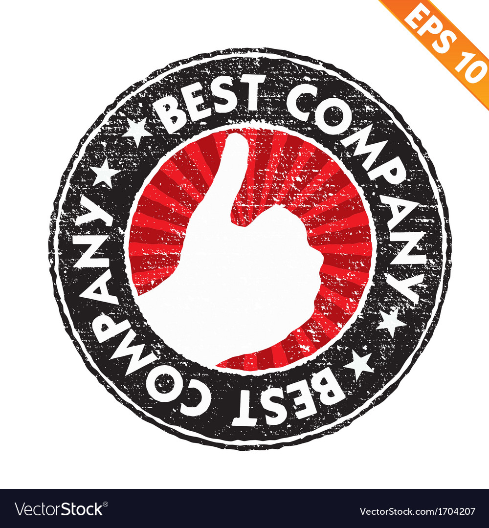 Stamp sticker best company collection - - e vector | Price: 1 Credit (USD $1)