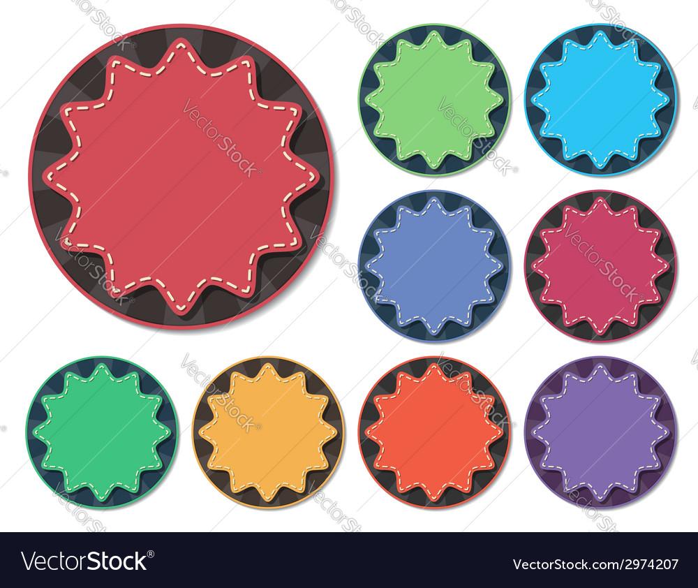 Starburst badge vector   Price: 1 Credit (USD $1)