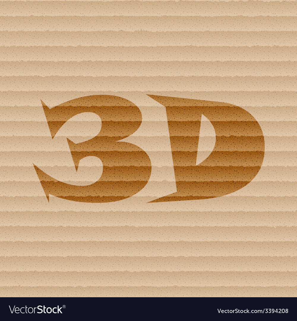 3d icon symbol flat modern web design with long vector | Price: 1 Credit (USD $1)