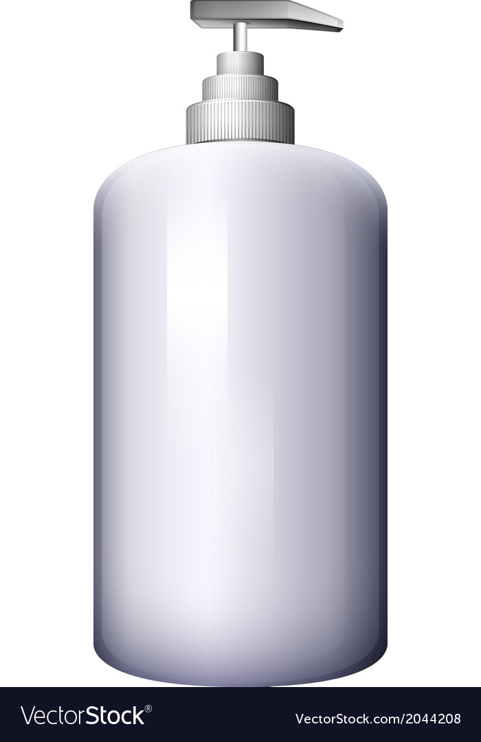 A pump-style lotion bottle vector | Price: 1 Credit (USD $1)