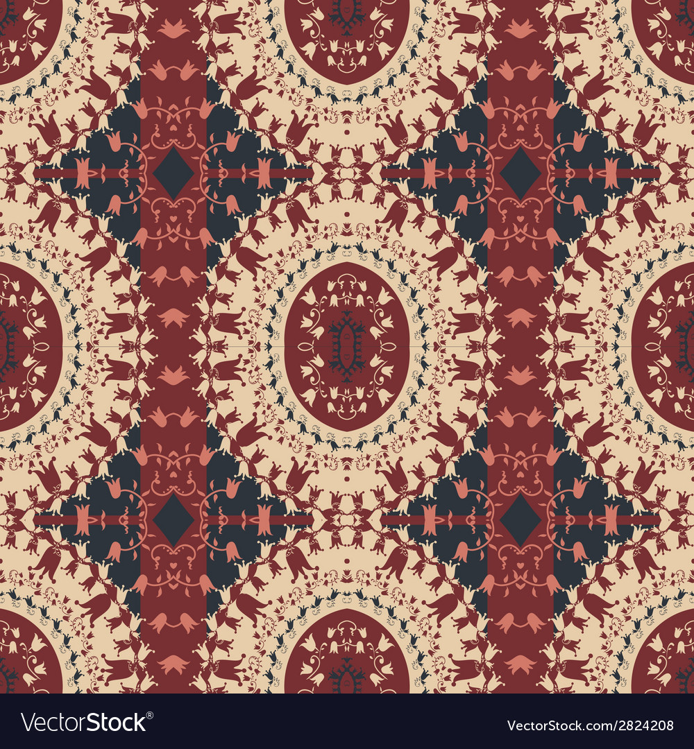 Background with ethnic motifs vector | Price: 1 Credit (USD $1)