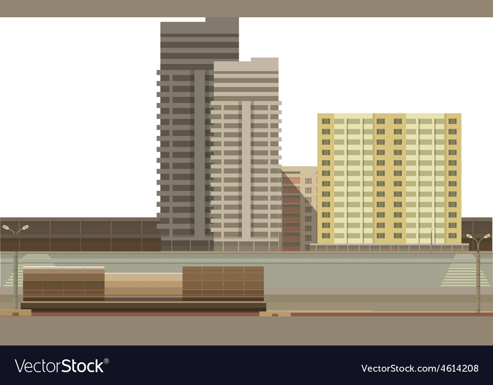 Building on a white background vector | Price: 1 Credit (USD $1)