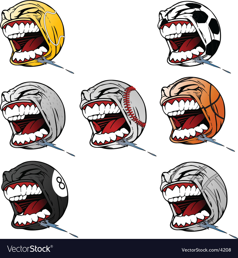 Screaming sports vector | Price: 3 Credit (USD $3)