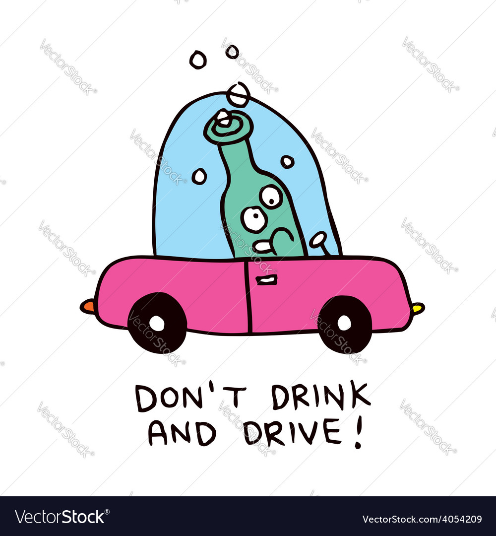 Dont drink and drive vector | Price: 1 Credit (USD $1)