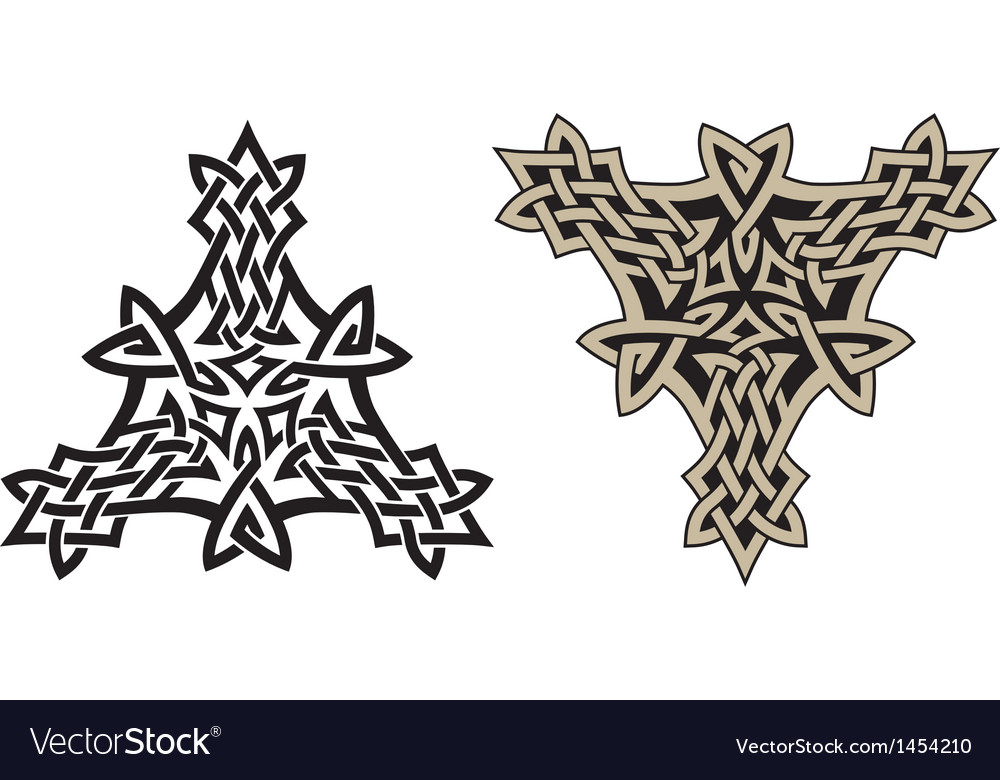 Celtic triskell vector | Price: 1 Credit (USD $1)