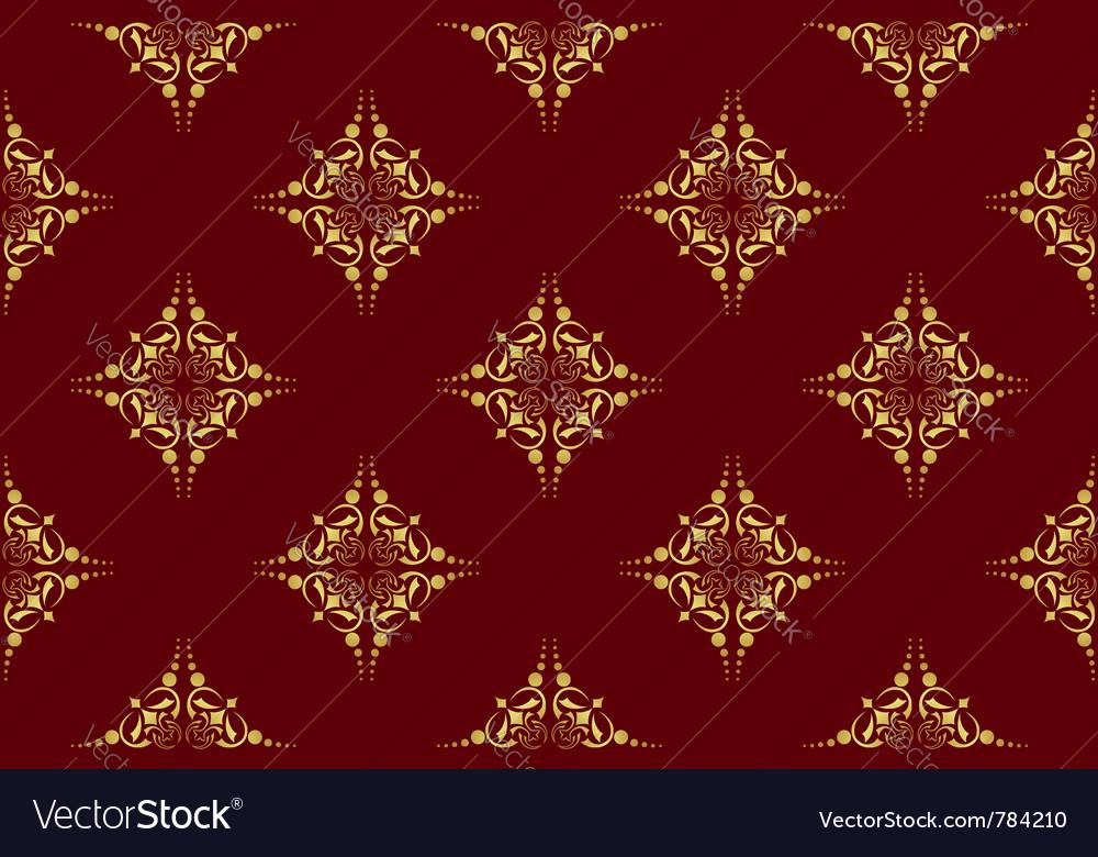 Dark brown seamless geometrical texture vector | Price: 1 Credit (USD $1)