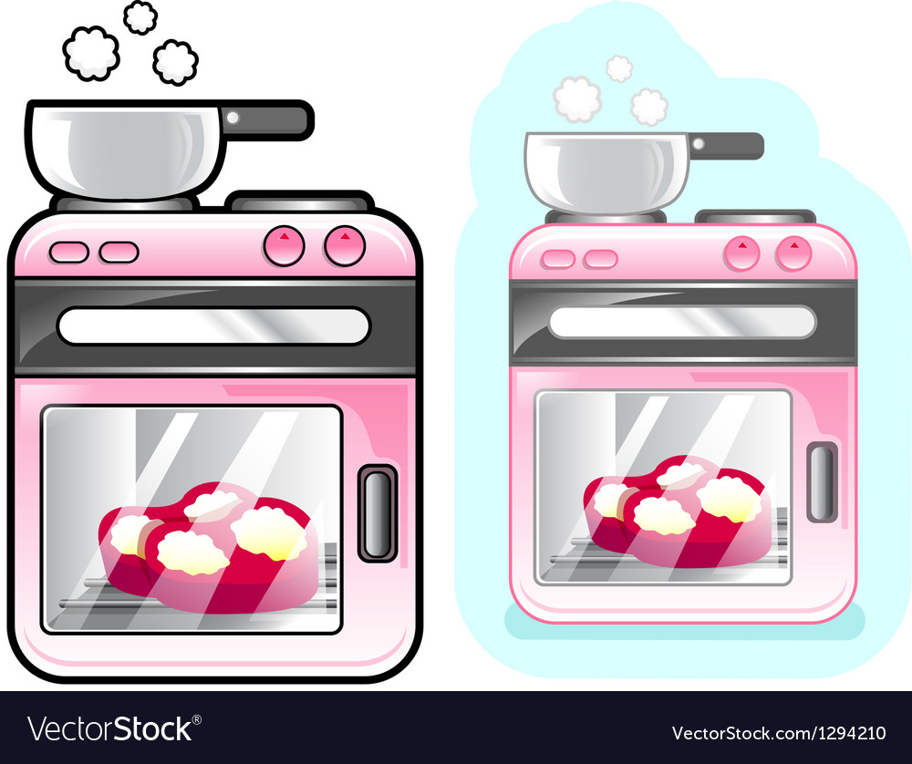 Diverse styles of oven sets vector | Price: 1 Credit (USD $1)