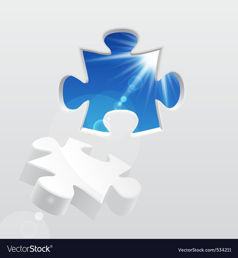 3d puzzle vector | Price: 1 Credit (USD $1)
