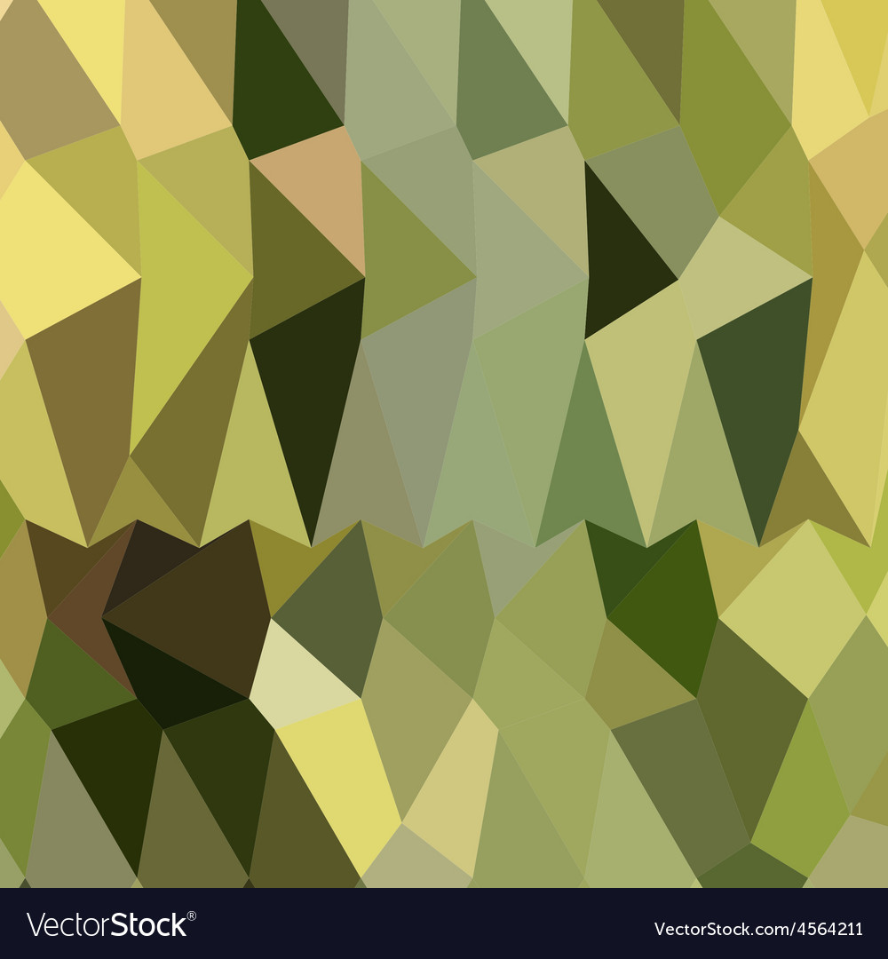Dark khaki abstract low polygon background vector | Price: 1 Credit (USD $1)