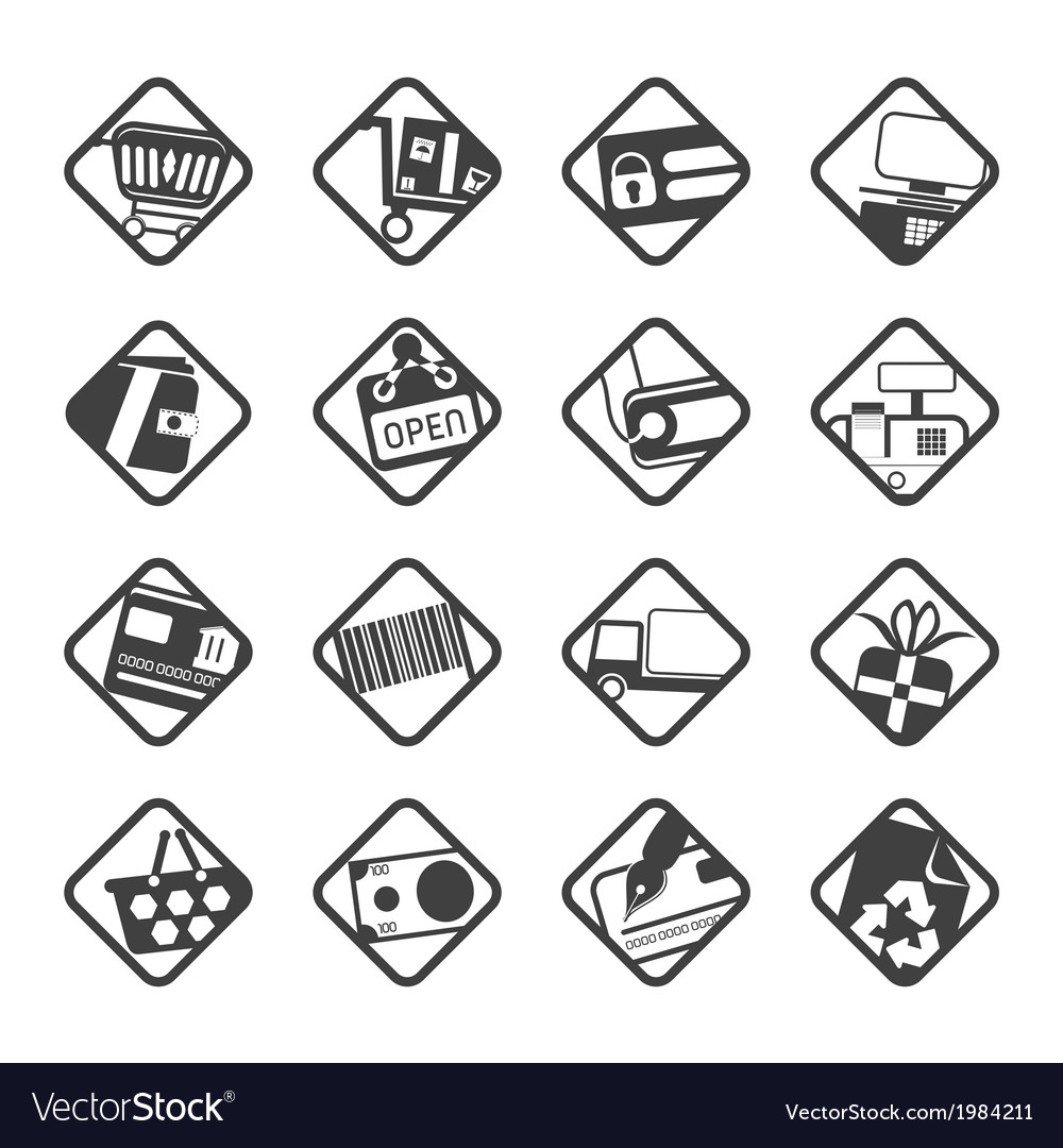 E-commerce and web site icons vector | Price: 1 Credit (USD $1)
