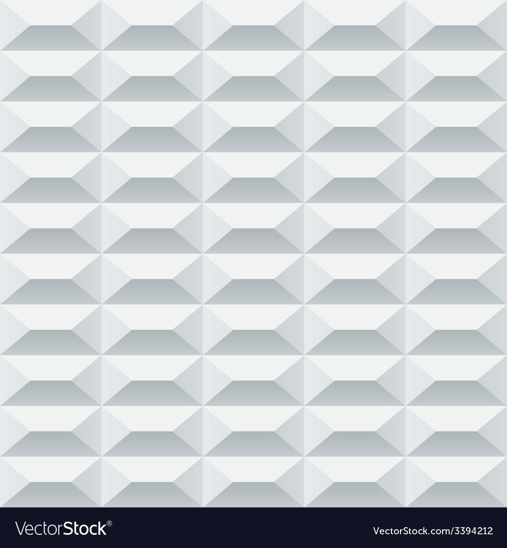 Abstract white and grey geometric squares seamless vector | Price: 1 Credit (USD $1)