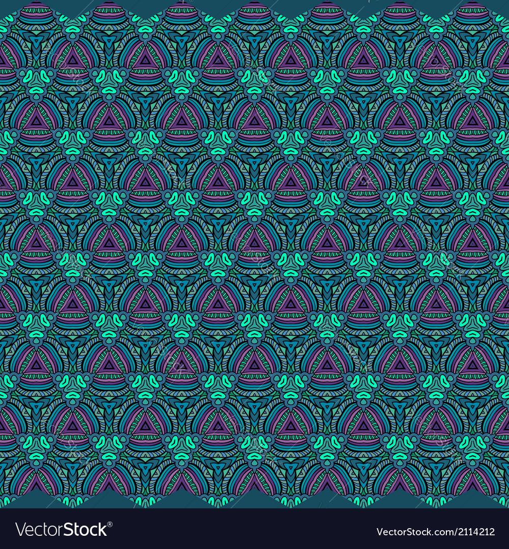 Decorative ornamental seamless pattern vector | Price: 1 Credit (USD $1)