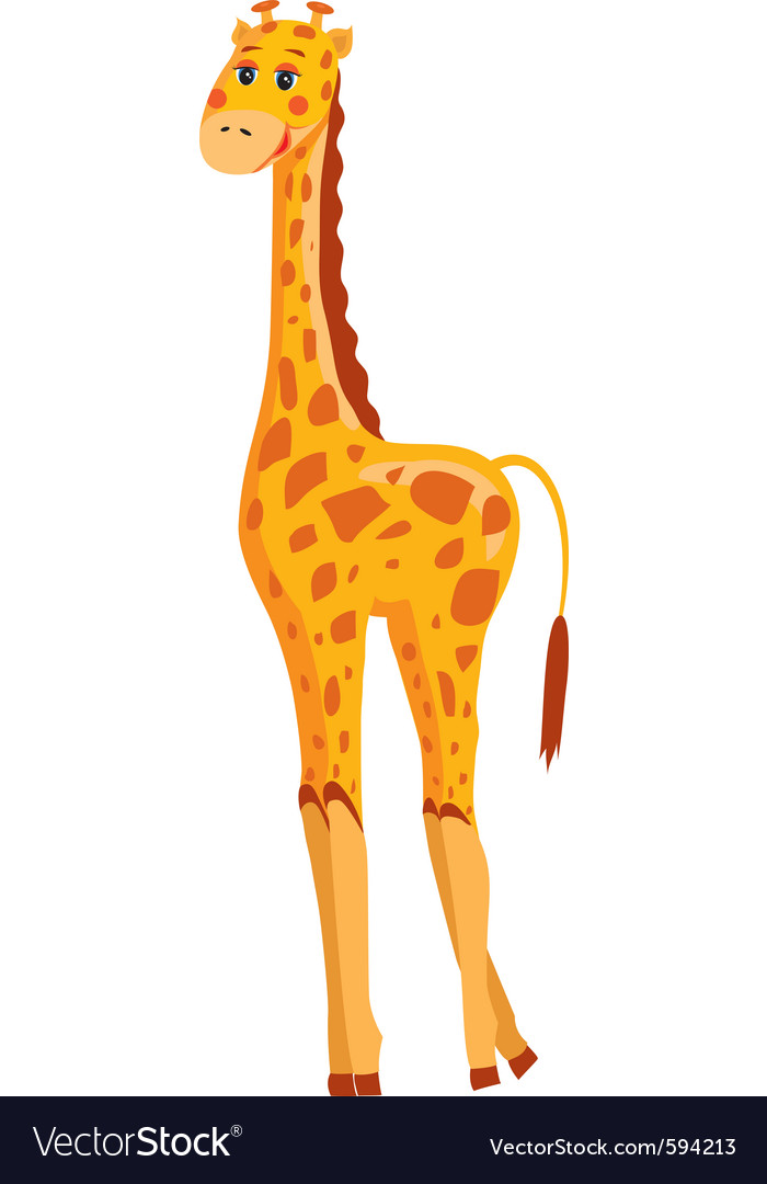Cute giraffe vector | Price: 1 Credit (USD $1)