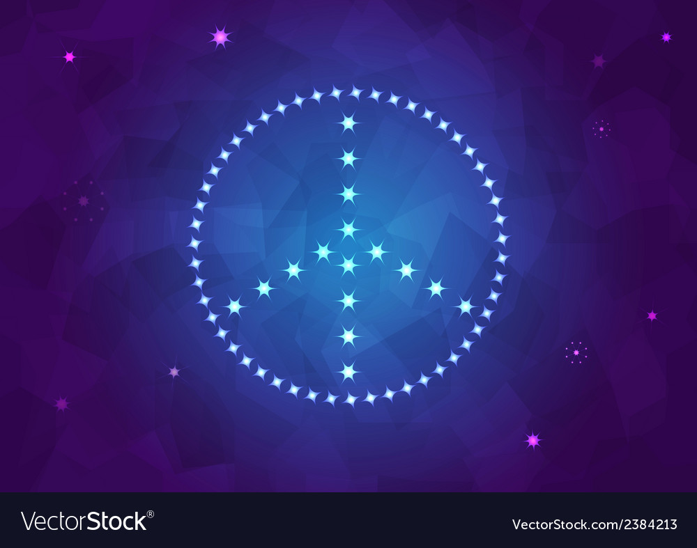Peace sign background vector | Price: 1 Credit (USD $1)