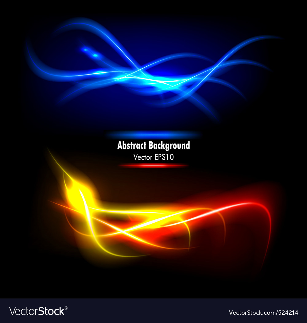 Color abstract glowing background vector | Price: 1 Credit (USD $1)