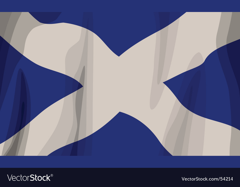 Flag scotland vector | Price: 1 Credit (USD $1)