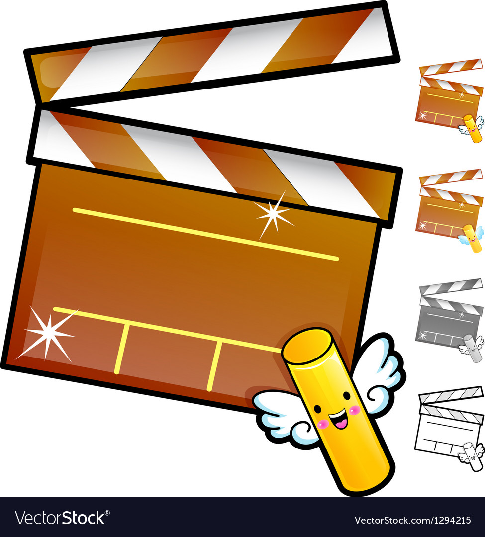 Diverse styles of slate and movie sets vector | Price: 1 Credit (USD $1)