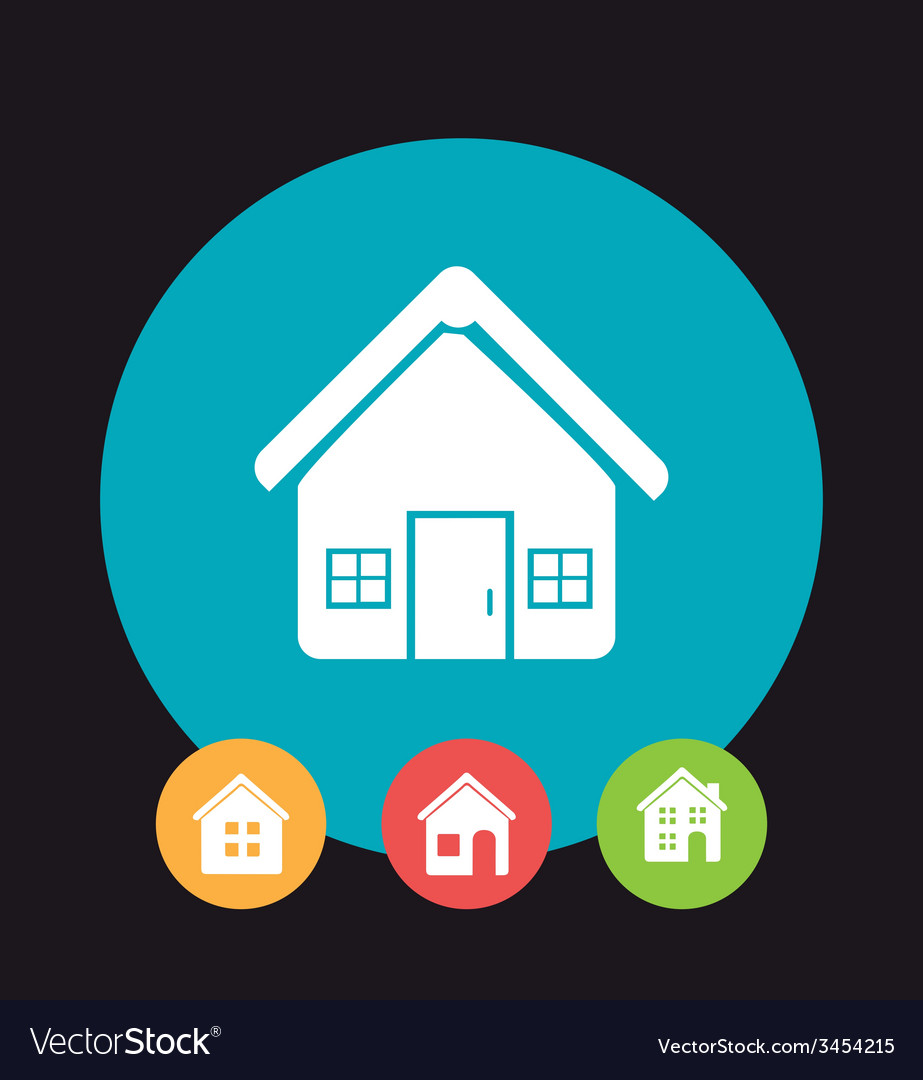 Home design vector | Price: 1 Credit (USD $1)