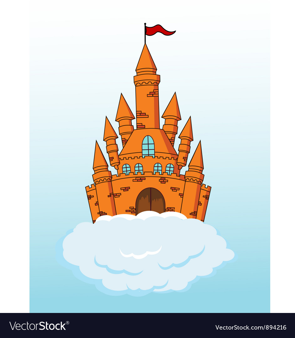 Fairy castle vector | Price: 3 Credit (USD $3)