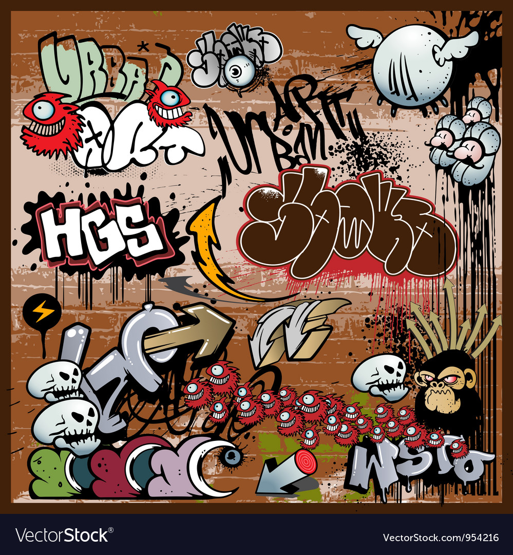 Graffiti vector | Price: 3 Credit (USD $3)