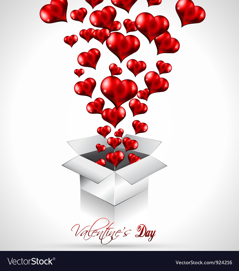 Valentines day background vector | Price: 3 Credit (USD $3)