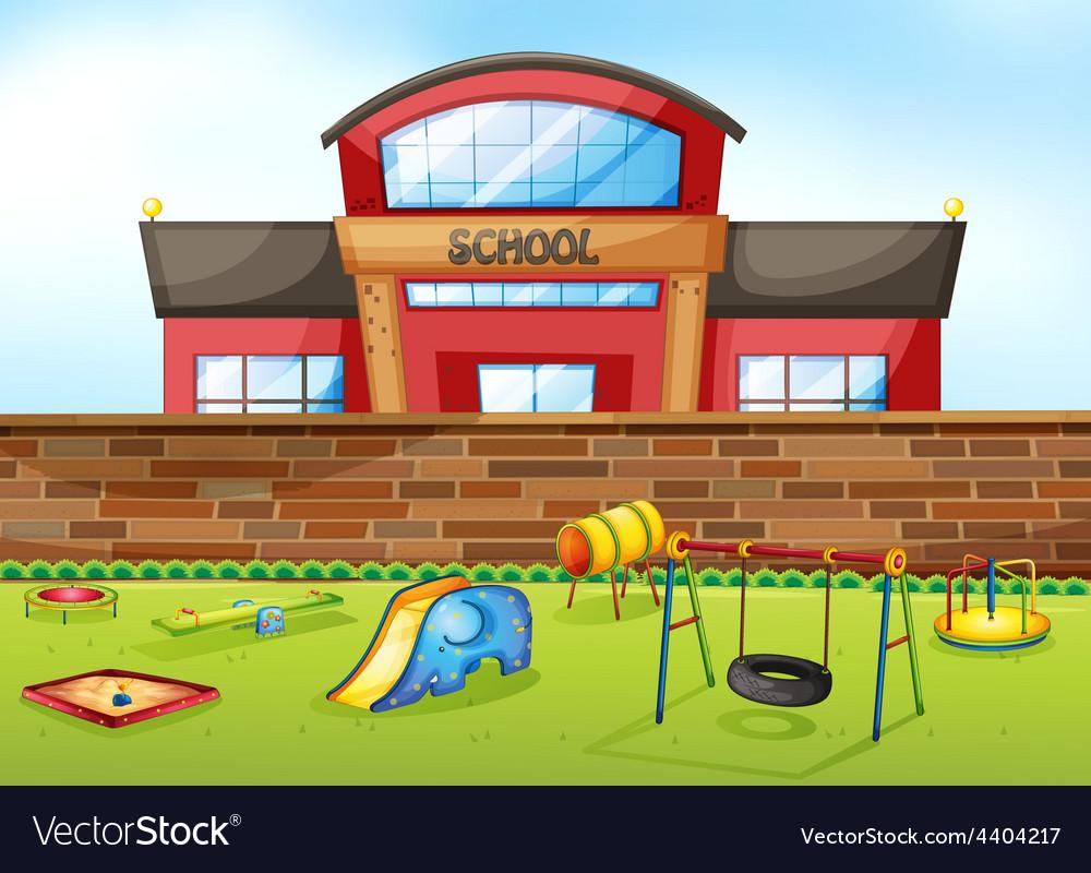 School vector | Price: 3 Credit (USD $3)