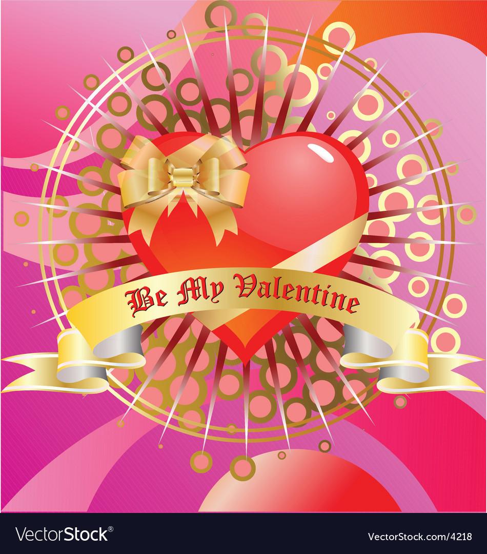 Be my valentine's vector | Price: 1 Credit (USD $1)