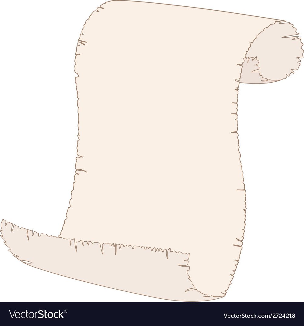 Blank old paper sheet of paper vector   Price: 1 Credit (USD $1)