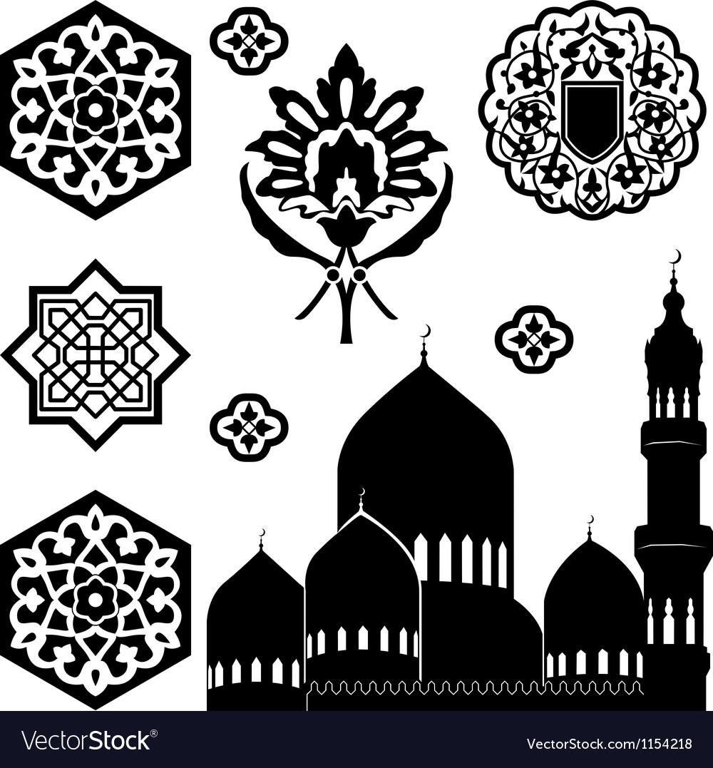 Islamic ornaments vector | Price: 1 Credit (USD $1)