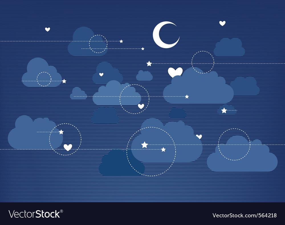 Moon vector | Price: 3 Credit (USD $3)