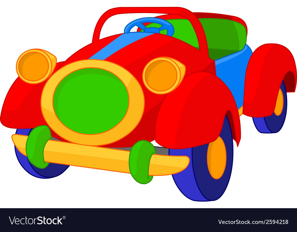 Toy cabriolet vector | Price: 1 Credit (USD $1)