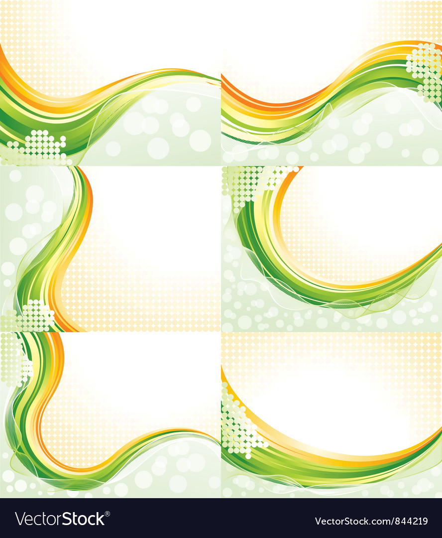 Abstract flowing backgrounds vector | Price: 1 Credit (USD $1)