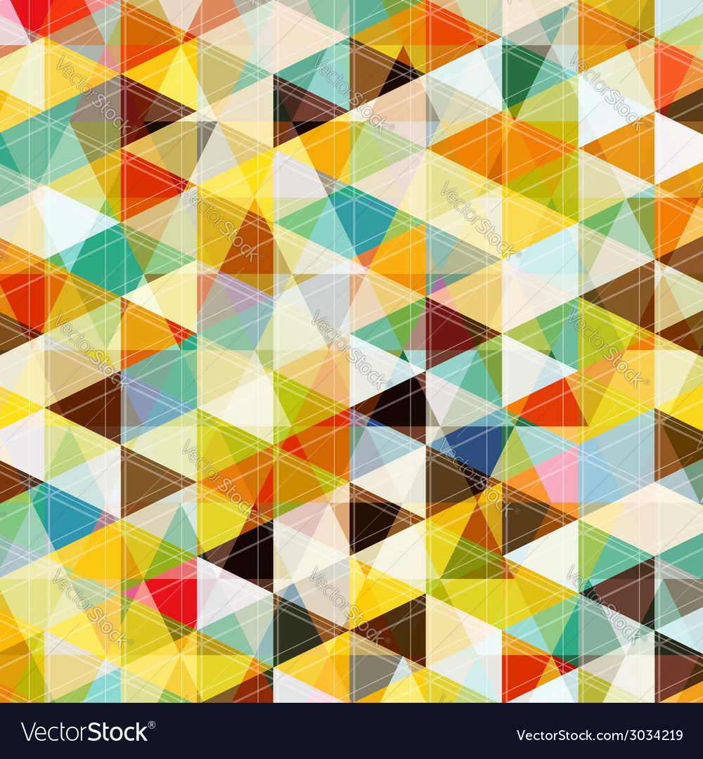 Abstract mosaic pattern vector | Price: 1 Credit (USD $1)
