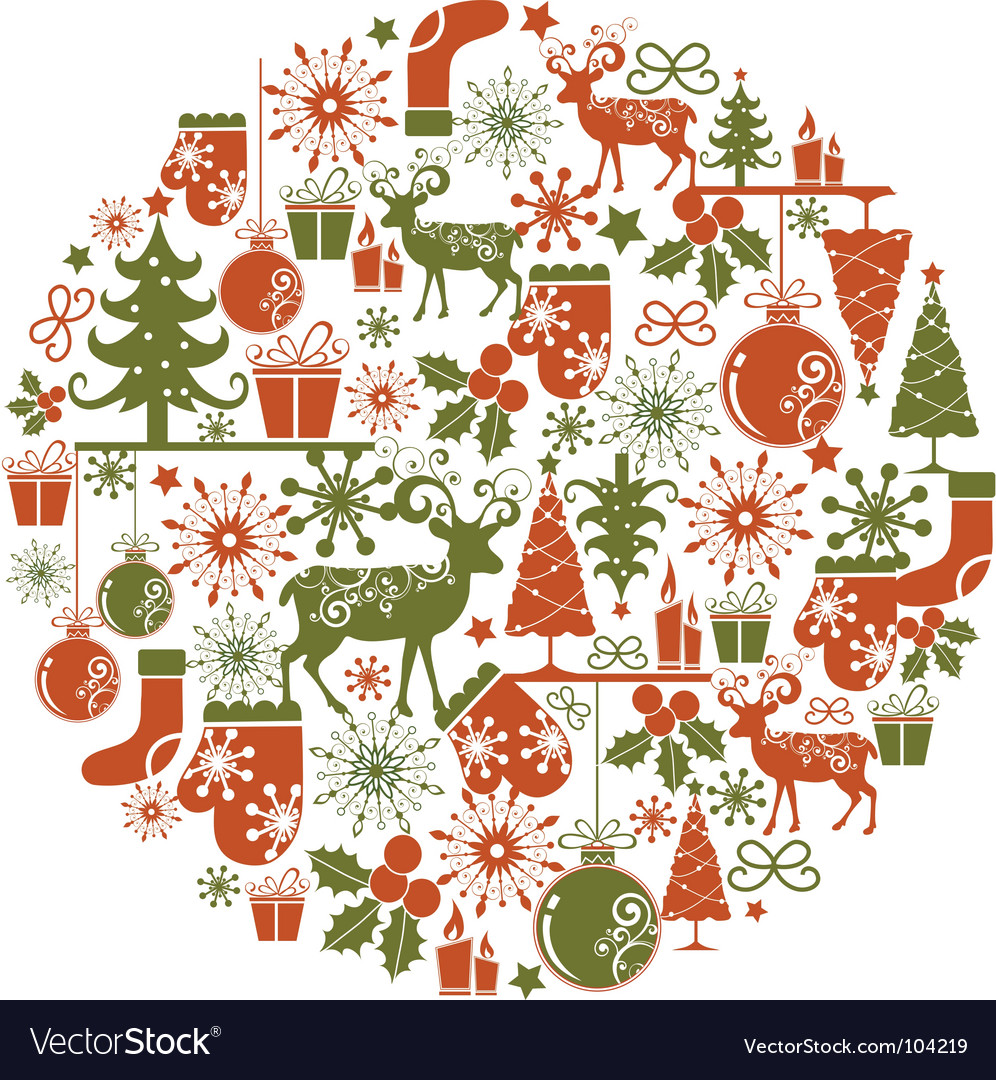 Christmas graphics vector | Price: 1 Credit (USD $1)