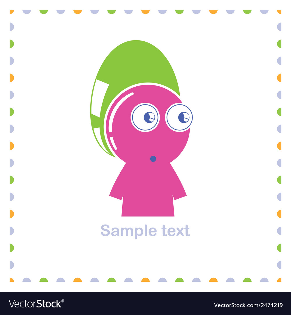Funny character vector | Price: 1 Credit (USD $1)