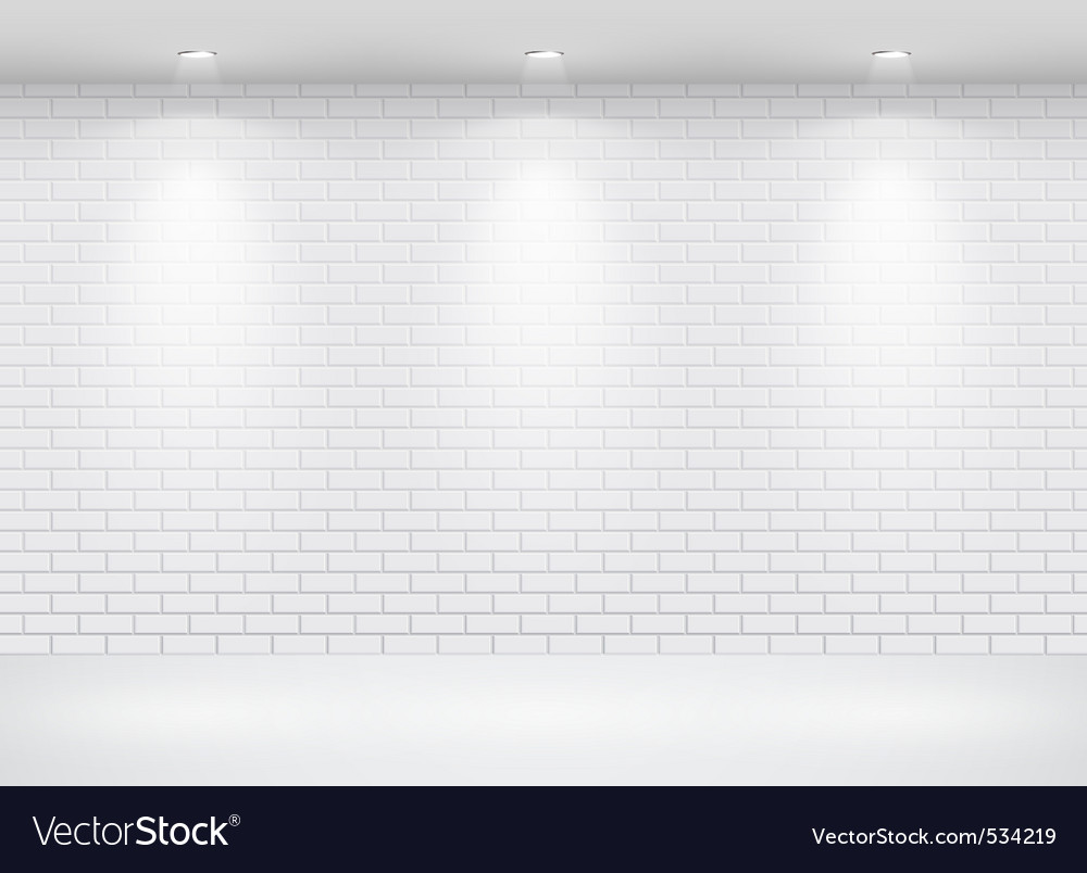 Gallery brick wall vector | Price: 1 Credit (USD $1)