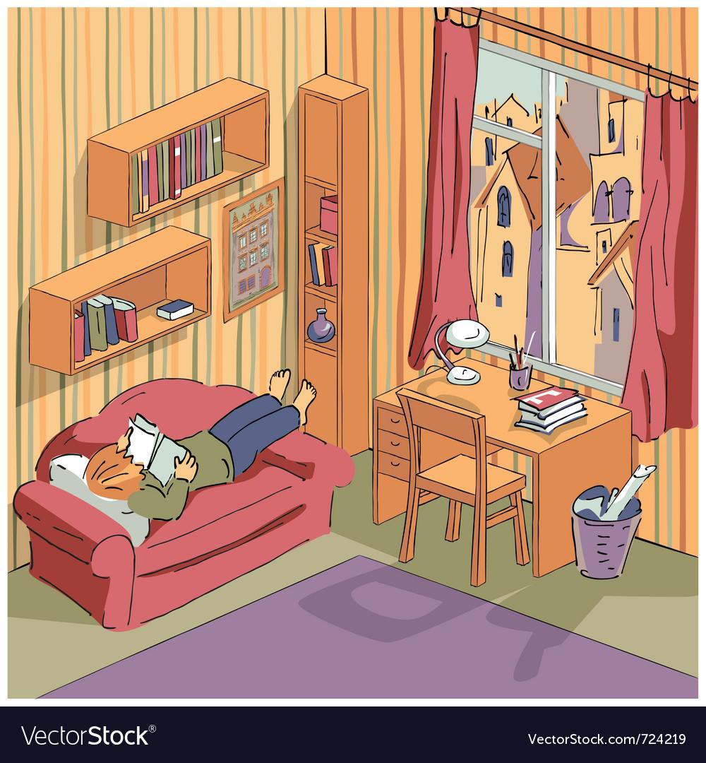 Interior apartment vector | Price: 3 Credit (USD $3)