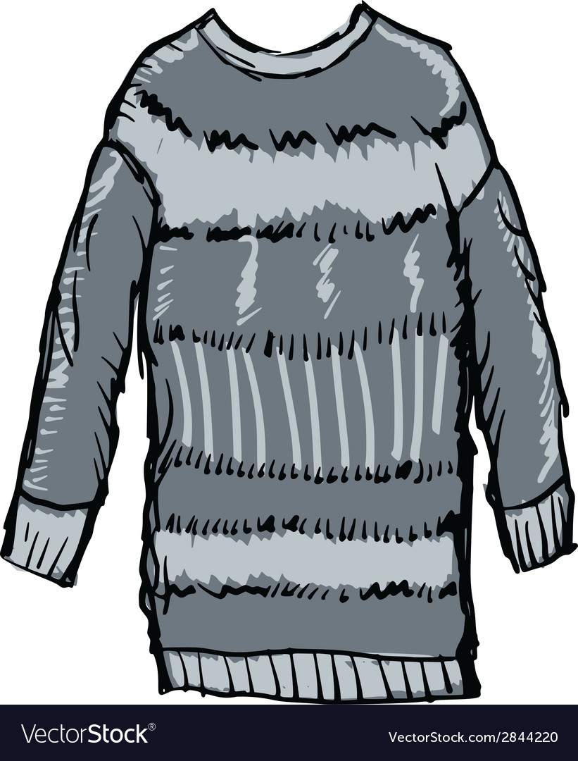 Winter pullover vector | Price: 1 Credit (USD $1)