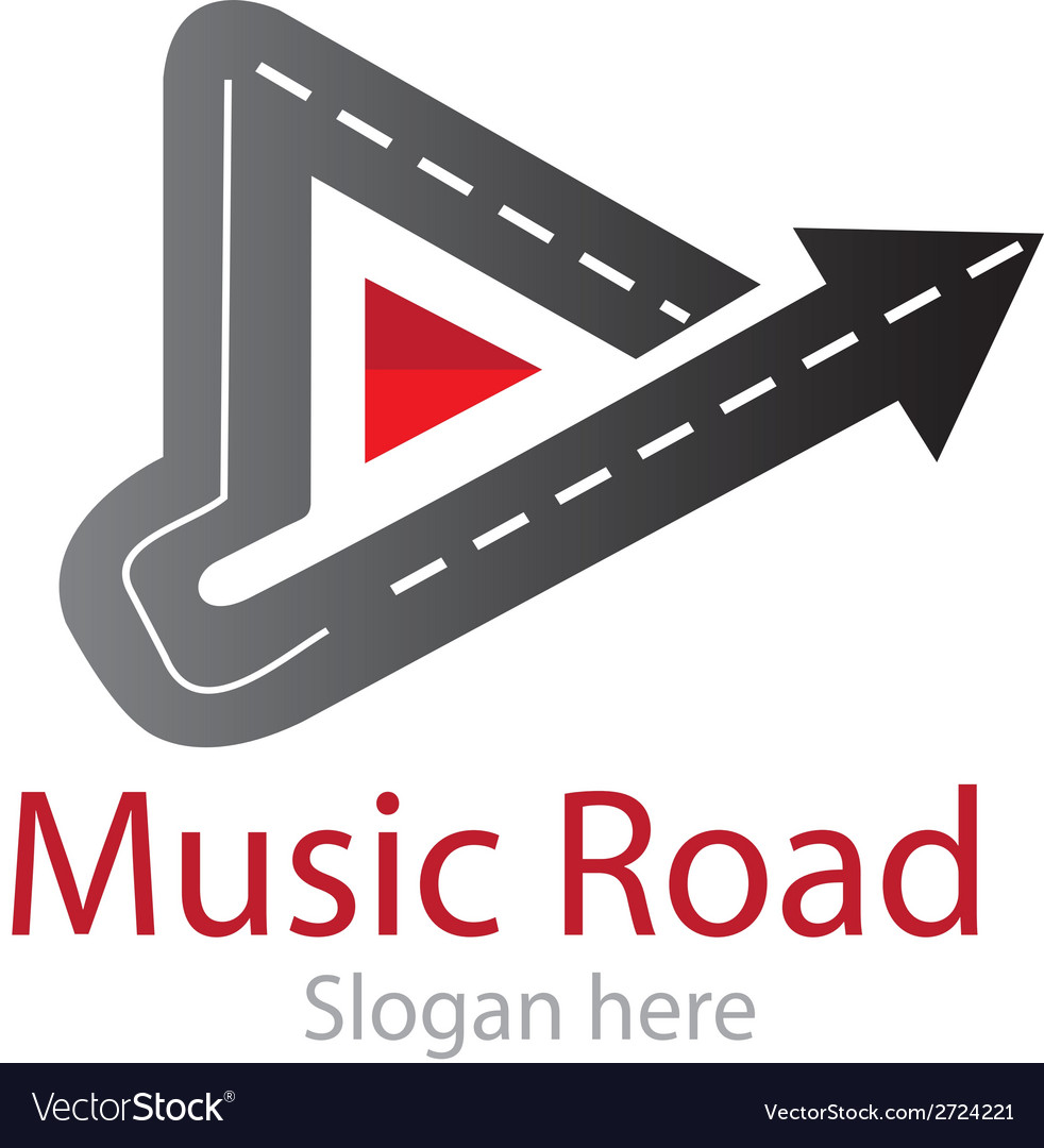 Music road logo vector | Price: 1 Credit (USD $1)