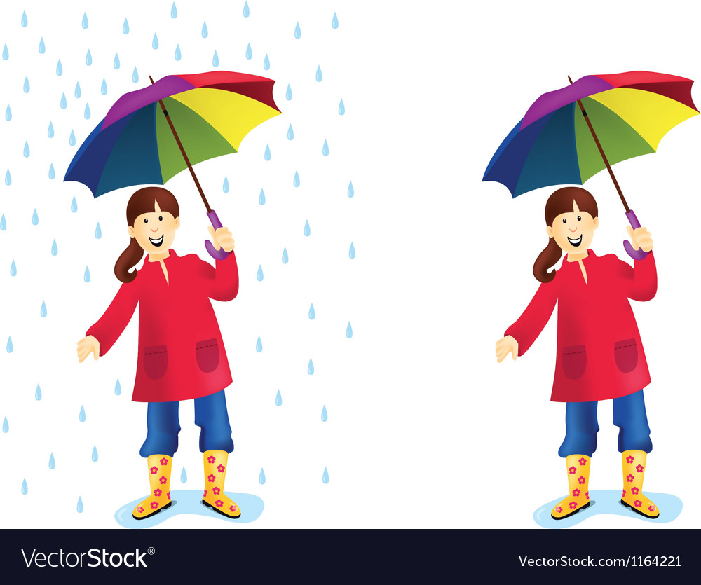 Rain vector | Price: 3 Credit (USD $3)