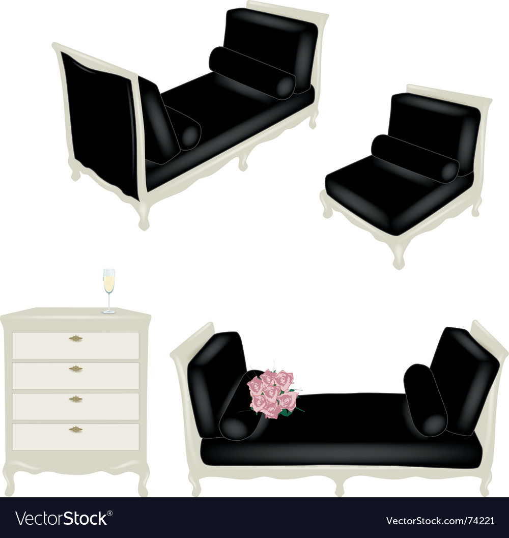 Set of antique elements vector | Price: 1 Credit (USD $1)