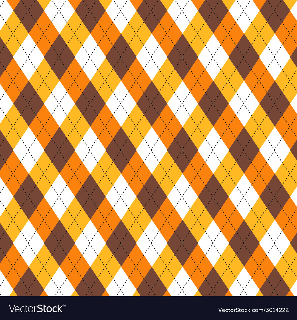 Candy corn argyle vector | Price: 1 Credit (USD $1)