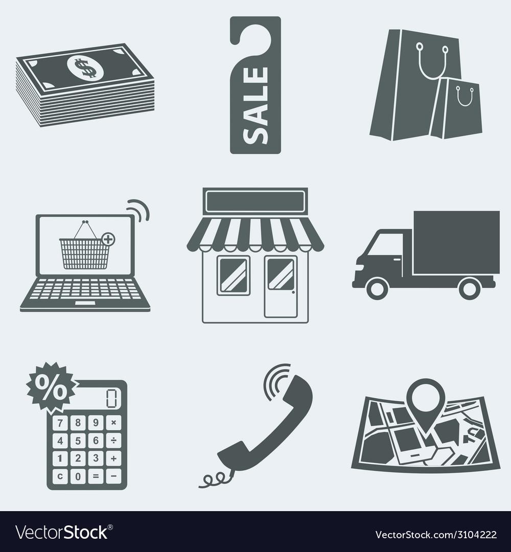 Shop vector