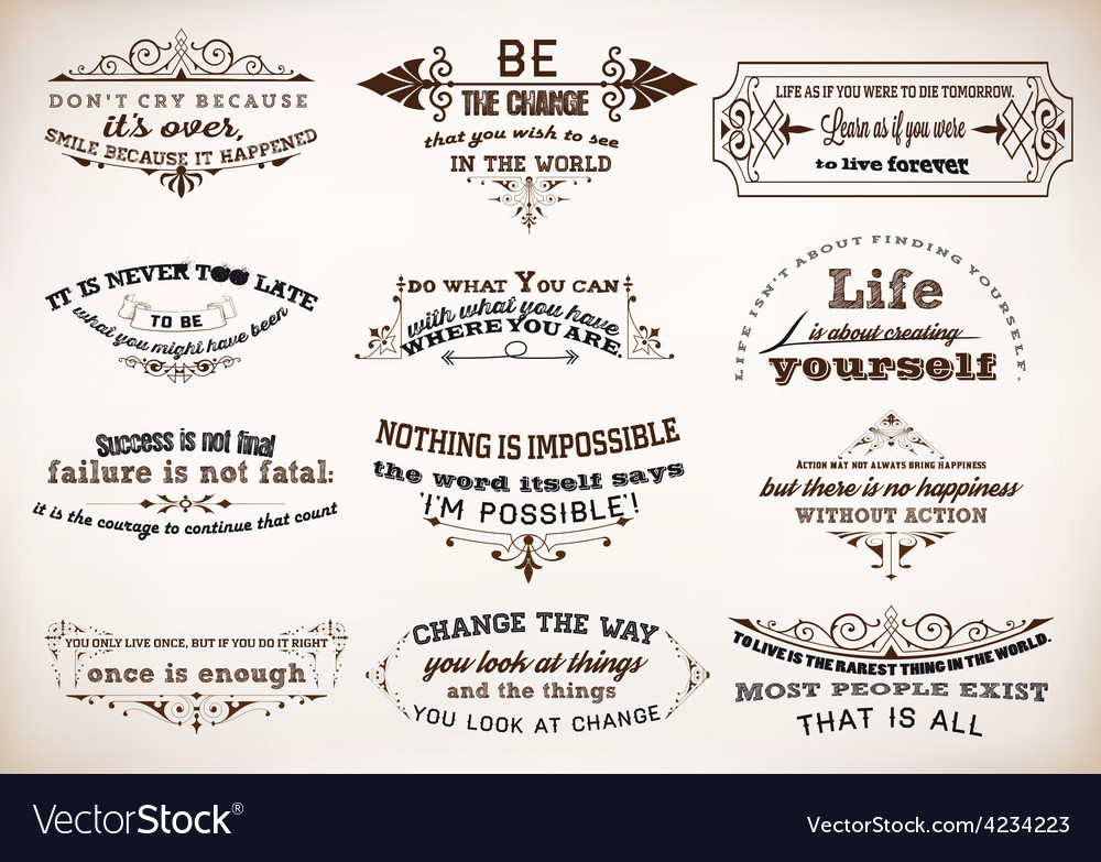 000 quotes vector