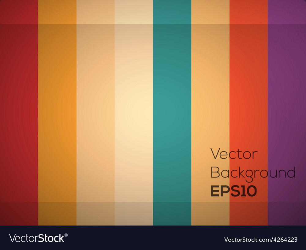 Abstract color line background vector | Price: 1 Credit (USD $1)
