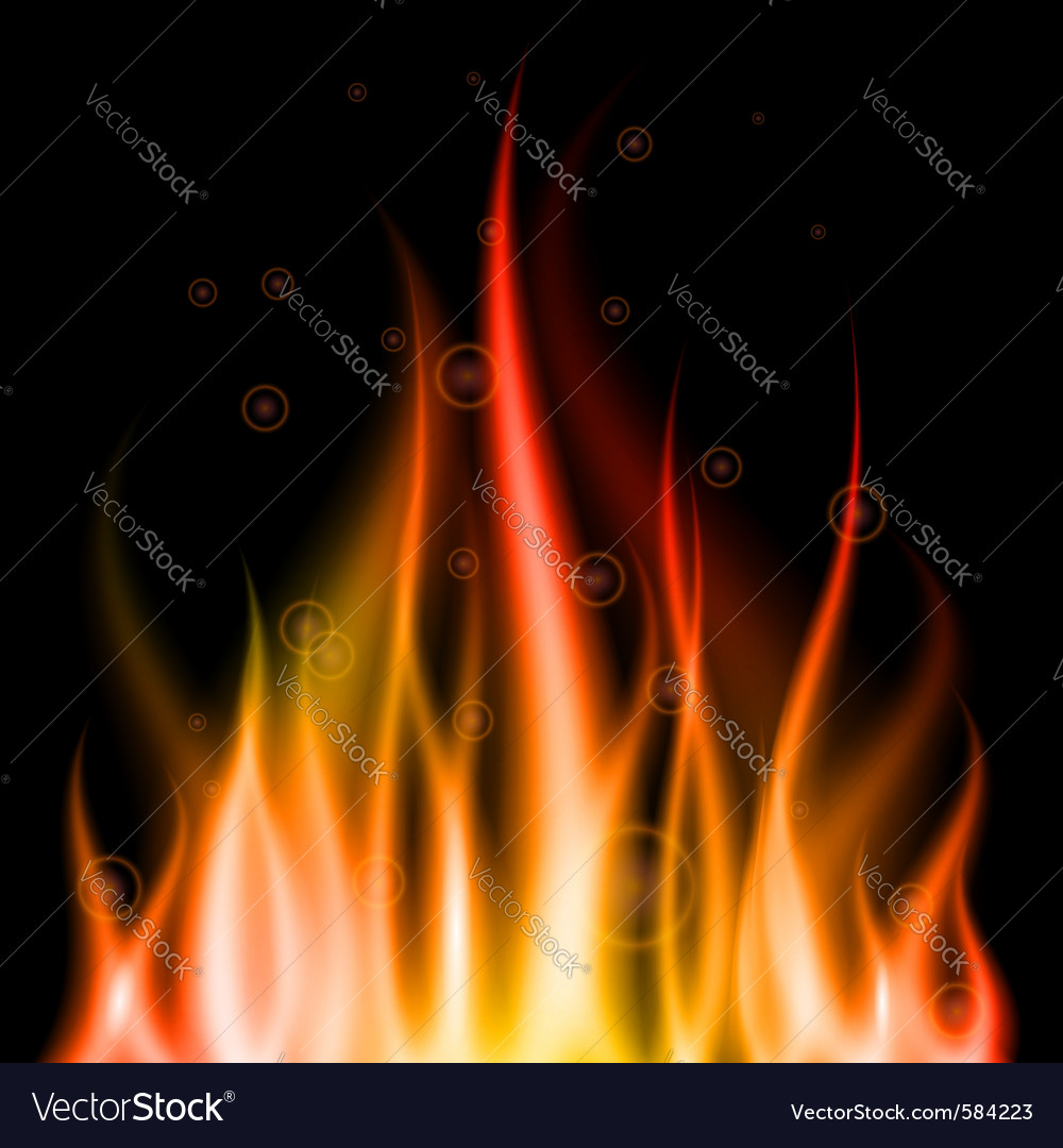 Abstract fire background element for design eps10 vector | Price: 1 Credit (USD $1)