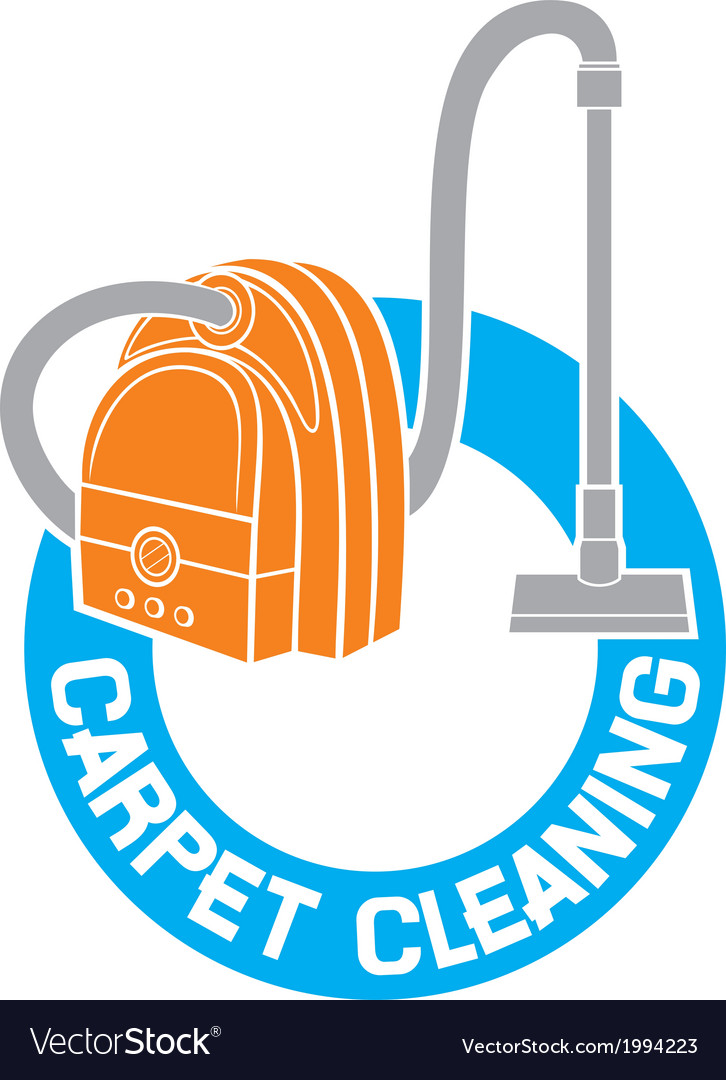 Carpet cleaning service sign vector | Price: 1 Credit (USD $1)