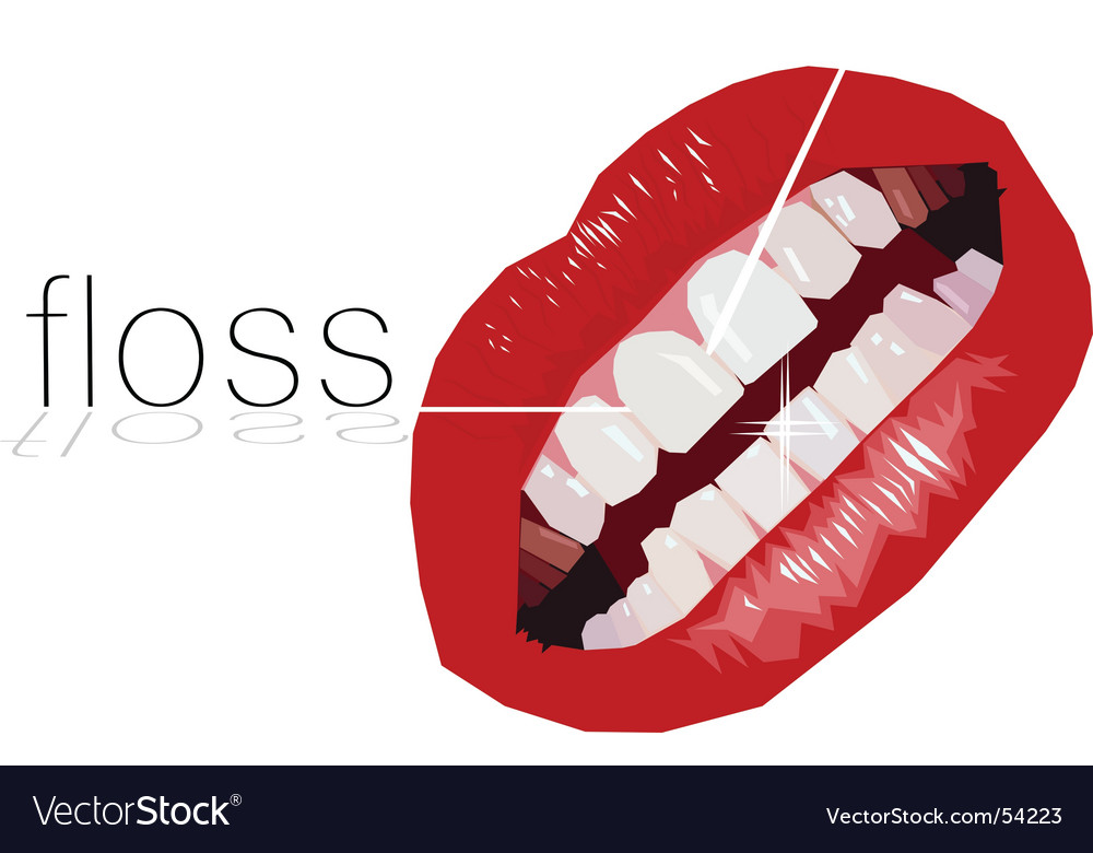 Floss vector | Price: 1 Credit (USD $1)