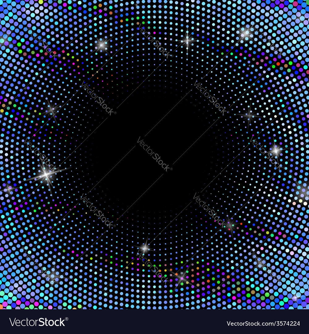 Abstract background with dotted circles vector   Price: 1 Credit (USD $1)
